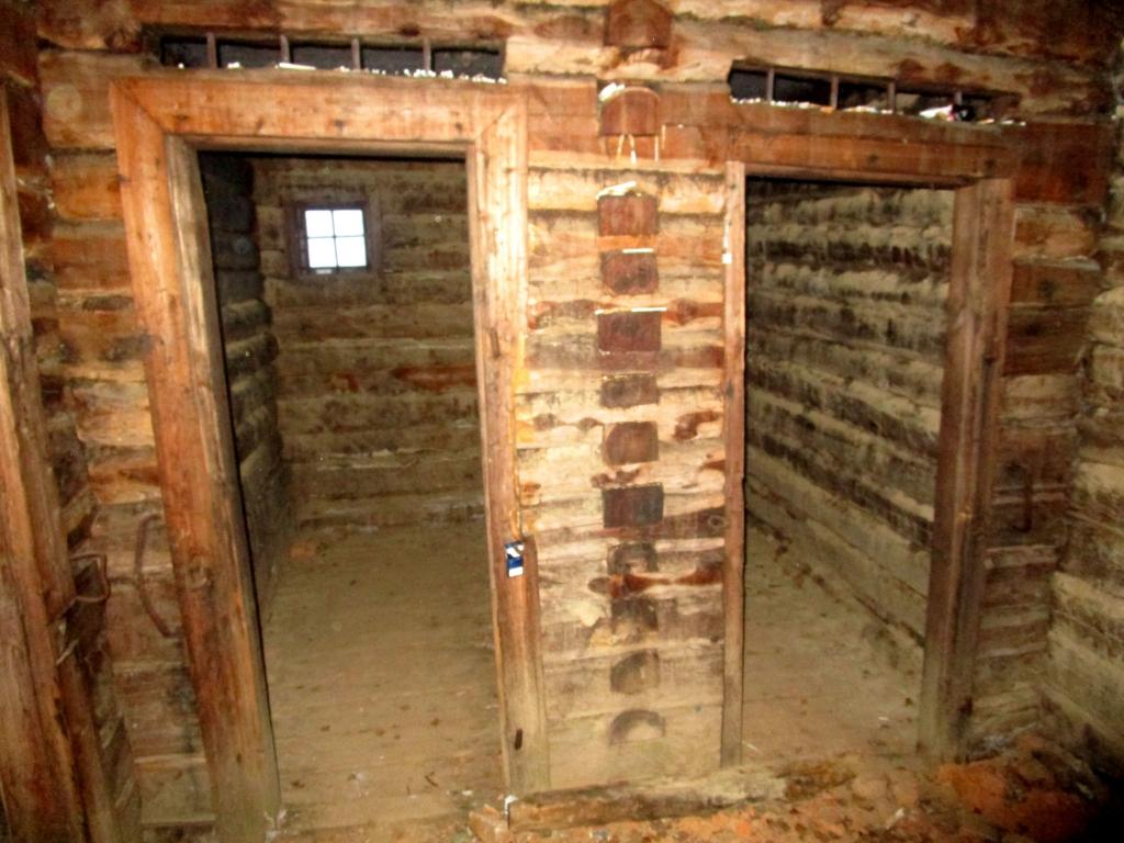 Inside the barrack.